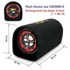 Loa crow 6-Tặng jack 3,5mm