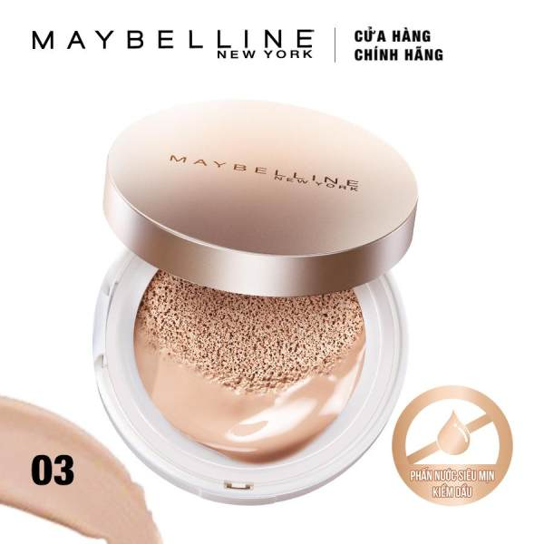 Phấn nước Maybelline Super BB Cushion 03 Natural 14g