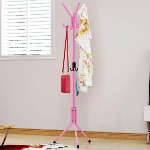Shome nuo Iron Art Metal Bedroom Clothes Rack Landing Fashion Creative Sedurre Attrarre Wall Hangers Hallstand