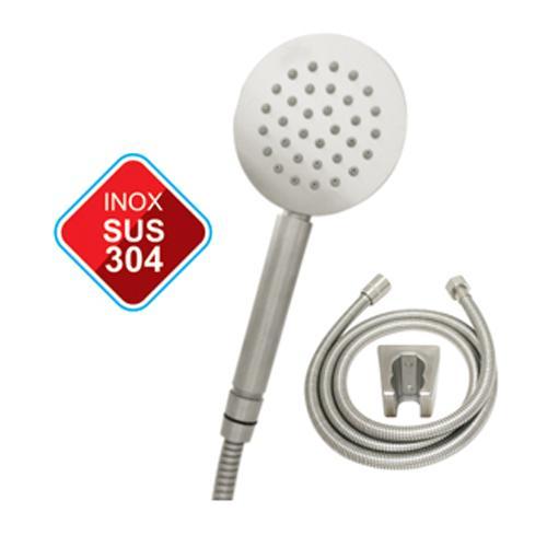 Bộ vòi sen Inox SUS 304 + Tay sen tăng áp + Trọn bộ