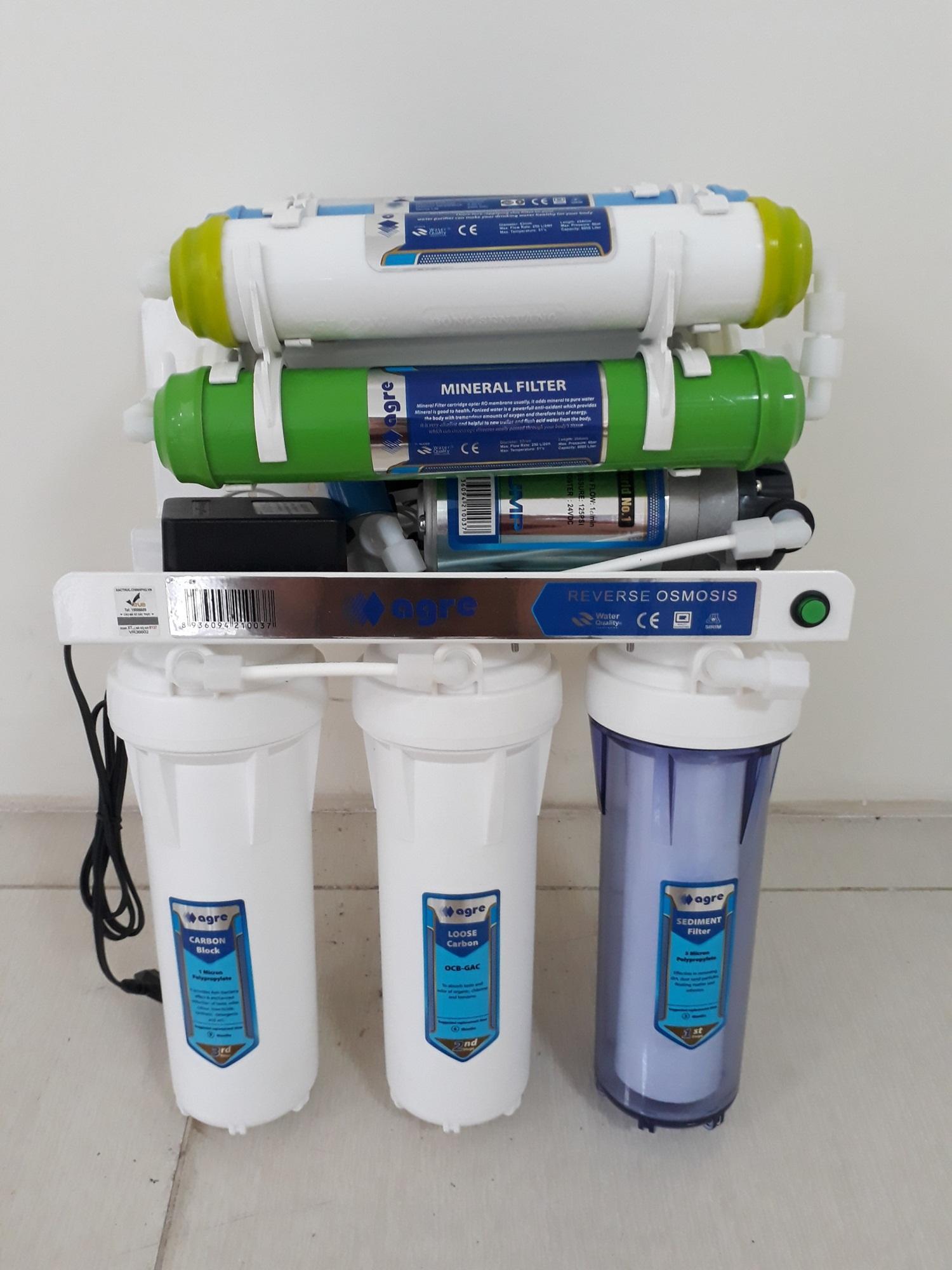 Khuyến Mại】 Máy lọc nước RO 9 cấp lọc không vỏ