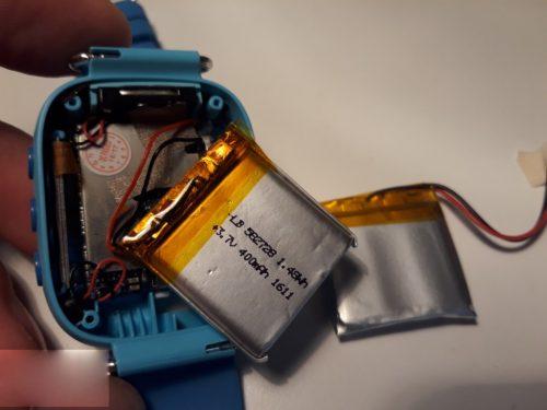 Pin đồng hồ định vị trẻ em Wonlex GW400S, GW400E, GW400X