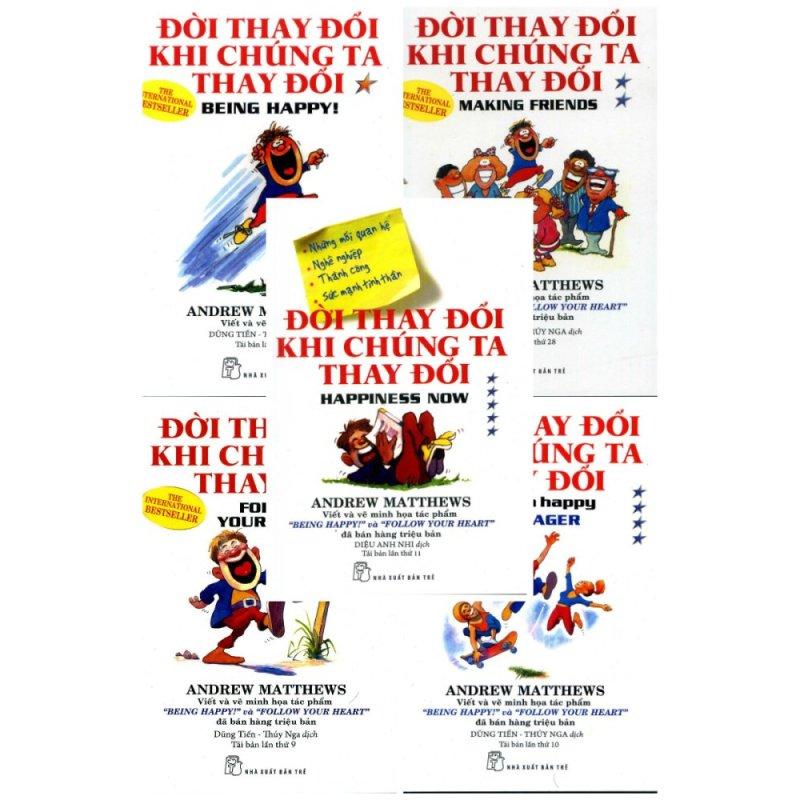 Mua Bộ sách Đời Thay Đổi Khi Chúng Ta Thay Đổi - Andrew Matthews - Trọn bộ 5 tập - NXB Trẻ - BỌC NILON BẢO QUẢN SÁCH CHUYÊN DỤNG