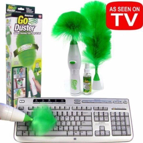 Chổi lau bụi tự động Go Duster giá rẻ + Tặng đầu vòi lọc nước