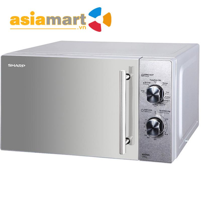 Lò vi sóng Sharp R-G227VN-M 20L (bạc)