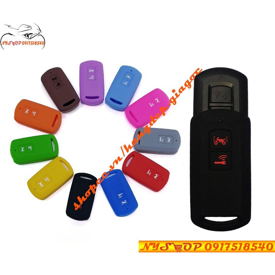 ??Bọc chìa khóa Smartkey xe Lead Air Blade VisionVario 2018 Silicon bảo vệ cho Remote??