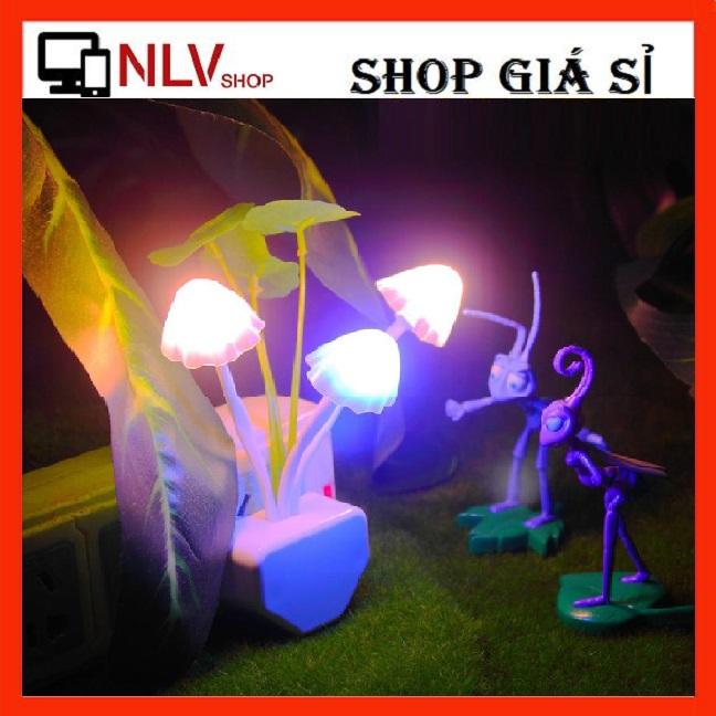 NLVSHOP - Đèn Ngủ Hoa Sen Cảm Biến Tự Sáng Khi Về Đêm