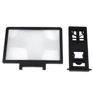 3D Movie Screen Enlarge Magnifier Folding Stand For Mobile Cell Phones - intl