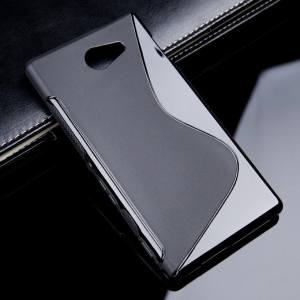 AKABEILA for Sony Xperia M2 Sline TPU Silicone Back Cover for Sony S50H D2303 D2305S Line Soft Phone Case Black Simple Mobile Phone Bags Cases - intl 5