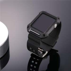 Hình thu nhỏ sản phẩm Bandmax Apple Watch Band 42MM Full Body Rugged Protective Bumper Case