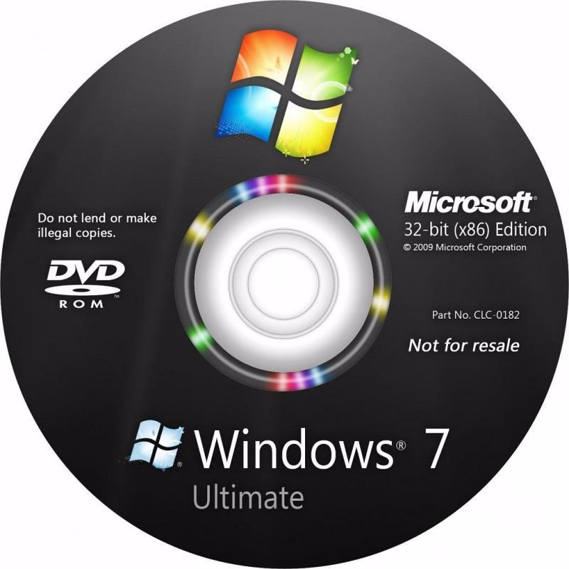 Bảng giá Đĩa Cài window 7 ultimate 64bit Phong Vũ