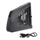 dmscs Cooling Fan for XBox 360 Slim, USB UP Cooling Fan External Side Cooler for Xbox 360 Xbox 360 Slim Console Game - intl
