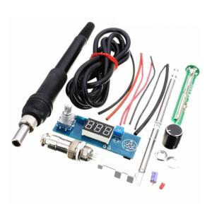 Hình ảnh For HAKKO T12 Handle Digital Soldering Iron Station Thermostat Kit Set - intl