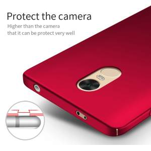 For Xiaomi Redmi Note 4X(32BG) Smooth hard Case cover Luxury Ultra-thin Frosted Shield full protection High Quality Back housing for Redmi Note 4X casing ...