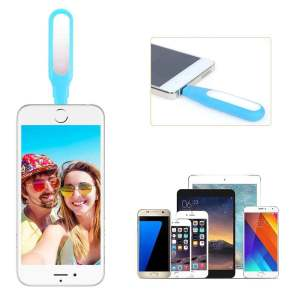 Hình thu nhỏ sản phẩm Mini USB LED Selfie Flash Fill Light For Andriod Samsung HTC Nokia LG Soft Light - intl