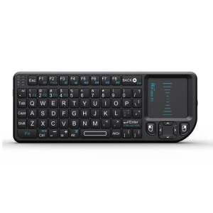 Hình ảnh RII Mini X1 2.4GHz Wireless Keyboard with Mouse Touchpad and Remote Control - Black