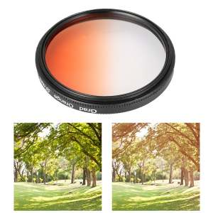 Hình thu nhỏ sản phẩm XCSource Graduated Orange Green Yellow Purple Grey Red Filters 58mm for Canon 650D LF349