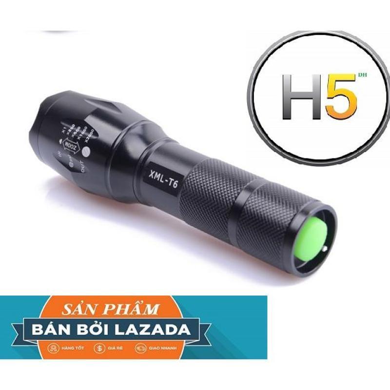 Bảng giá ban den bin, Đèn pin led siêu sáng XTML-CLB 6S Pro bền đẹp, SÁNG MẠNH, CHIẾU XA, BẢO HÀNH UY TÍN TẶNG KÈM 1 PIN 7000Ma+1 sạc+1 đốc để pin AAA+1 hộp đựng cao cấp