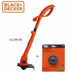 Black+Decker - Máy cắt cỏ cầm tay 300W (+ TẶNG RS300) GL300-B1