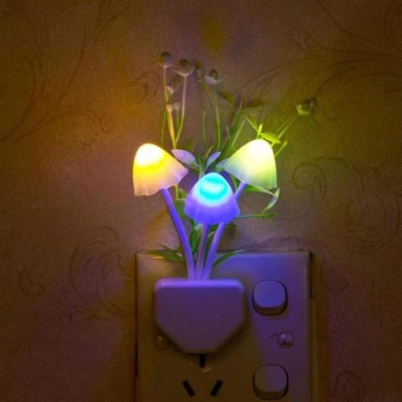 Bảng giá Đèn ngủ thần tiên hình nấm thủy sinh cảm ứng ánh sáng đổi màu