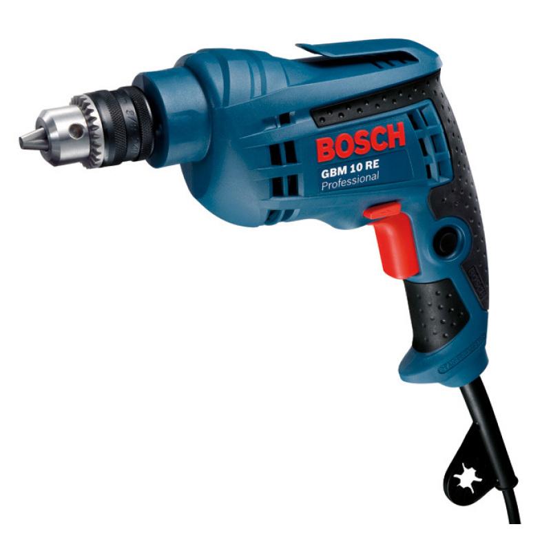 Máy khoan Bosch GBM 10 RE (Xanh)