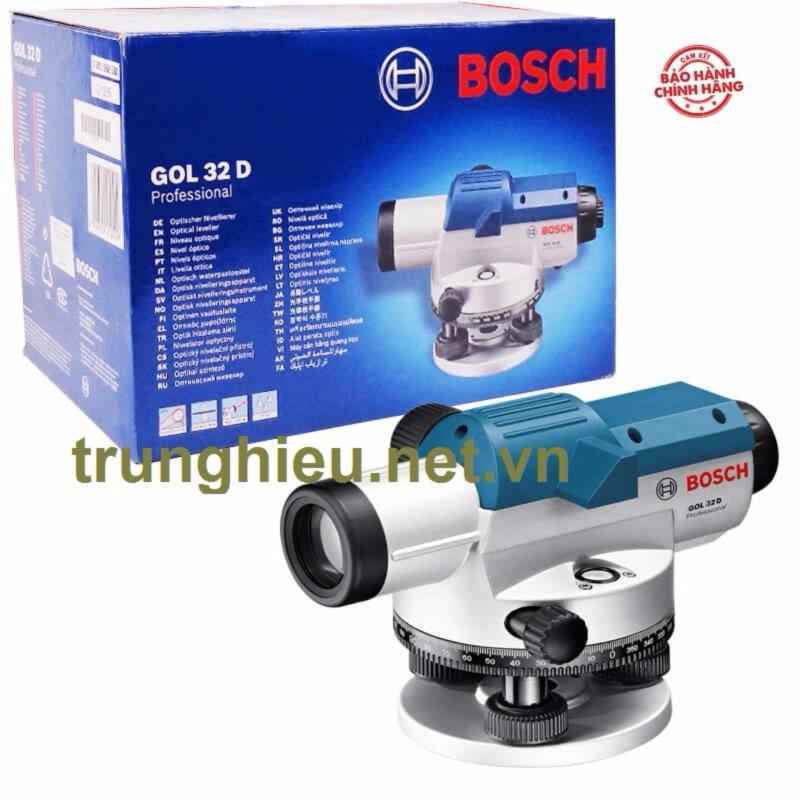 Máy thủy bình Bosch GOL 32D + Chân BT 160 + Cây mia GR 500