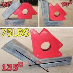 Nam châm ke góc dành cho thợ hàn (lực hút 33kg - 75LBS loại to nhất)