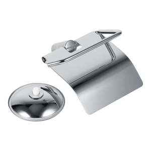 epayst Stainless Steel Toilet Wall Suction Paper Roll Holder
