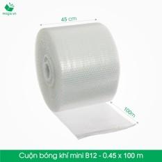 Túi bong bóng Khí (Màng xốp hơi) - Mã HN_B12 - Kích Thước 45cm x 100m