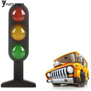 Hình thu nhỏ sản phẩm Colours Multi-Functional Intelligent Early Childhood Toys Traffic Light Transportation Light Plastic Electric Learn Traffic Knowledge Led Teach Toy Hobby