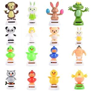 Hình thu nhỏ sản phẩm 1PCS Solar Powered Dancing Animal Decoration Color:Angel - intl - intl
