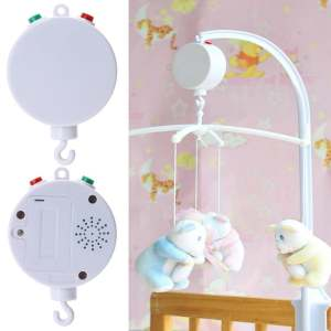 Hình ảnh 35 Song Rotary Baby Mobile Crib Bed Toy Clockwork Movement Music Box - intl