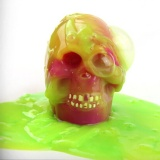Barrel Slime Goo Silly Gag Kids Skull Toys Prank Party Favors Joke C - intl