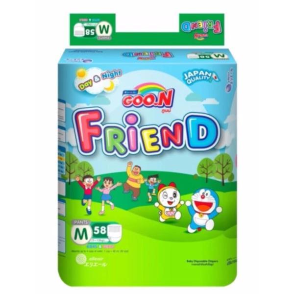 Bỉm - Tã Quần GOON Friend Size M58 (Cho Bé 7- 12Kg)