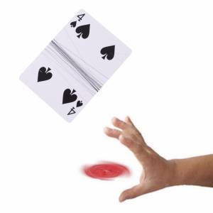 Hình thu nhỏ sản phẩm Close-Up Magic Stage Street Trick Floating Card FF - intl