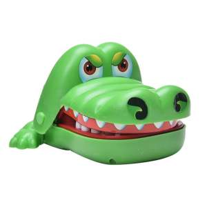 Crocodile Bite Finger Game Funny Children Party Toy Bulldog Mouth Dentist Gift - intl