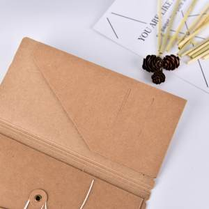 Hình thu nhỏ sản phẩm Kraft Paper Notebook Daily Office Vocabulary Book Portable Notebook Notes N3 - intl