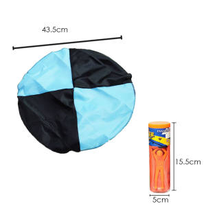 Hình ảnh Outdoor Sports Hand Throwing Mini Parachute Educational Toy Random Color Quantity 1 for Children Babies Kids - intl