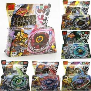 Hình ảnh Uncle Sam Fan Cheng Toys Gift Metal Fusion Masters Beyblade Rapidityfight Launcherrare Toy Set 4D For Childrenwithlauncher(Color:Multicolor)(Size:3) - intl