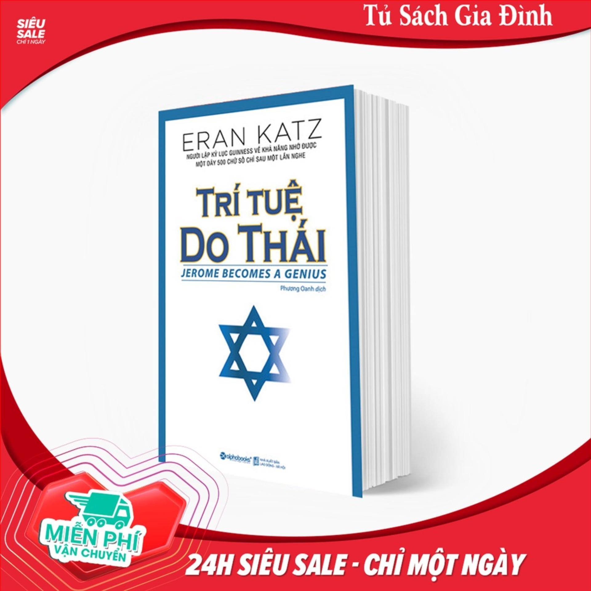 Trí Tuệ Do Thái - Tặng Bookmark Kẹp Sách
