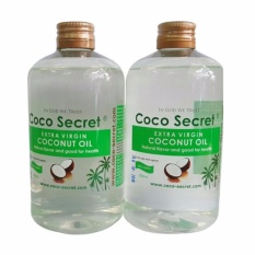 Dầu dừa nguyên chất 500ml Cocosecret