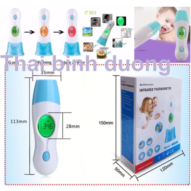 Nhiệt kế hồng ngoại đo trán Infrared Thermometer IT 903 Hàng nhập khẩu bán chạy