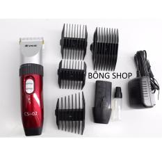 Tông đơ cắt tóc không dây chuyên nghiệp PCS-CS 02 NEW 2018 ( Đỏ )