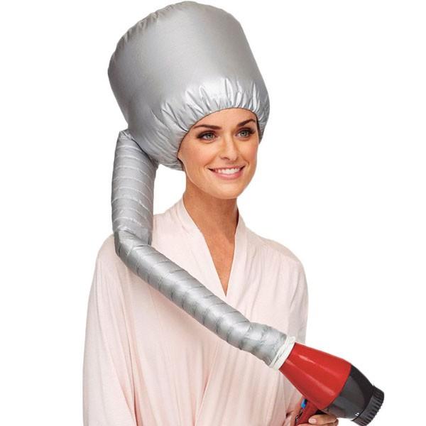 [LOẠI TỐT ] Mũ hấp tóc dùng máy sấy nóng an toàn