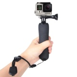 Hình thu nhỏ Bobber Floating Handle Grip With Adjustable Anti-lost Strap For GoPro HERO5 /4 /3+ /3 /2 /1(Black) - intl