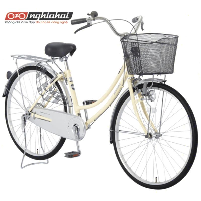 Phân phối Xe đạp Nhật Bản Maruishi CAT2611 (hồng, kem, bạc, xanh)