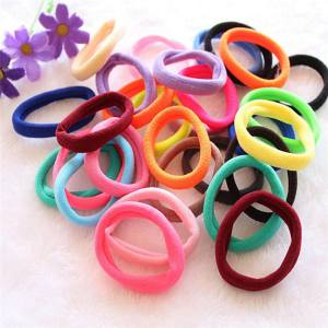 Hình thu nhỏ sản phẩm 50pcs Elastic Rope Ring Women Hair Band Ties Hairband Ponytail Holder Multicolor2 - intl