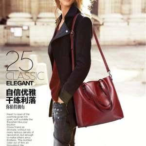Lan-store Super Premium Quality Bag Series-2017 Women Tote Bags Buckle Bucket Etc Shoulder Bag Handbag Working Bag Tote Big Bag Lady Bag Clutch Bag DABQ4D - ...