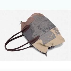 cda720dc1d Vintage Canvas Women Messenger Shoulder Bags Big Casual Tote Handbags Hobo  Bag   Coffee - intl
