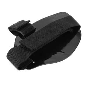 1 pair Wear-resisting Rubber Motorcycle Gear Shift Pad For Riding Shoes Scuff Mark Protector Motor Boot Cover Shifter Guards Protective,Black - intl